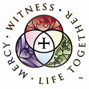 Witness Mercy Life Together Logo
